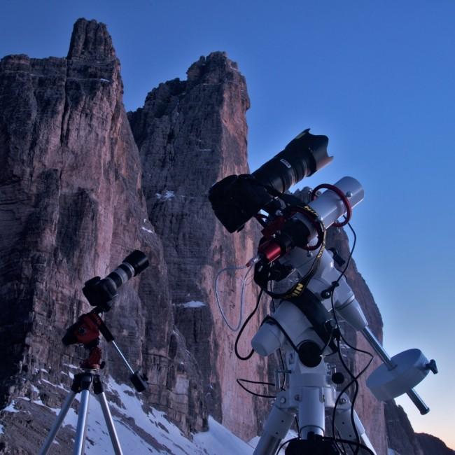 Star Adventurer versus EAGLE CORE kit: astrophotography with DSLR camera