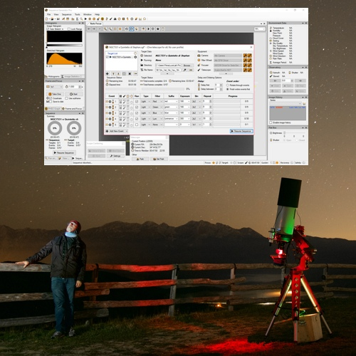 Advanced astrophotography automation softwares with EAGLE