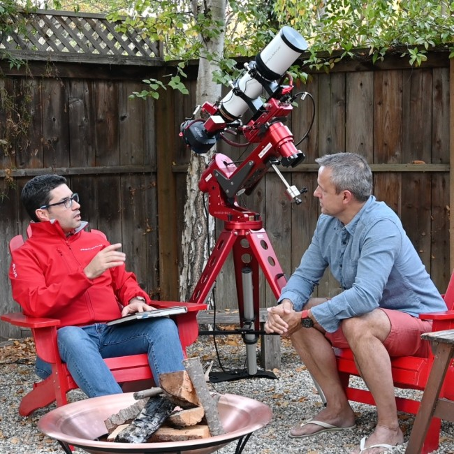 PrimaLuceLab's interviews: advantages of using EAGLE in astrophotography