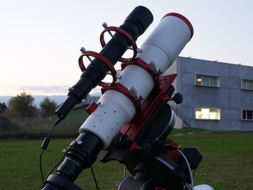 Autoguide flexures: PLUS guide rings allow to support the guide telescope preventing dangerous flexures.