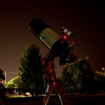 Astrophotography and light pollution