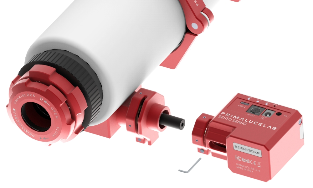 Installing 26mm, 33mm or 37mm adapters for SESTO SENSO 2
