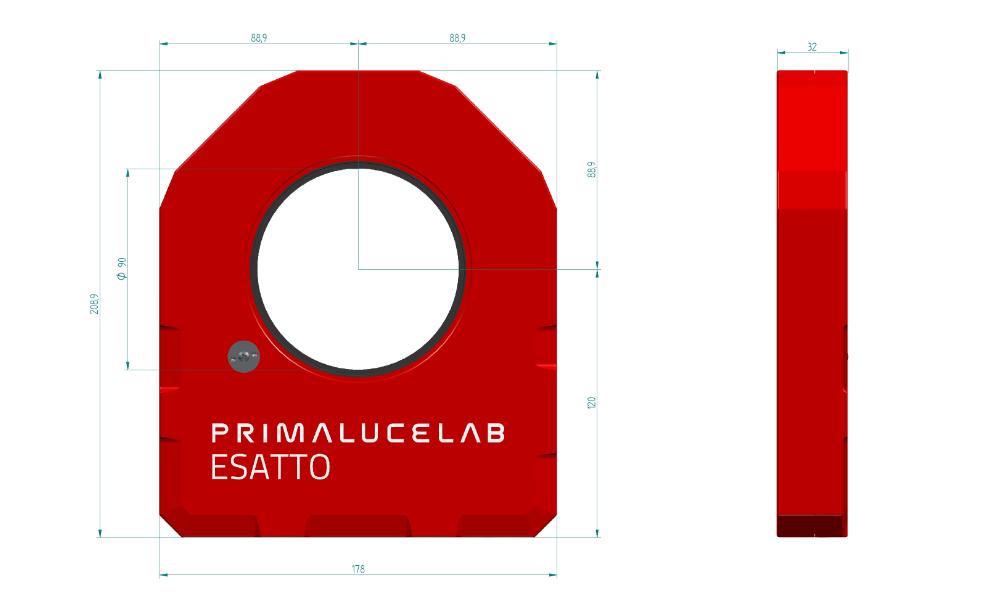 ESATTO 3,5 LP low profile robotic focuser