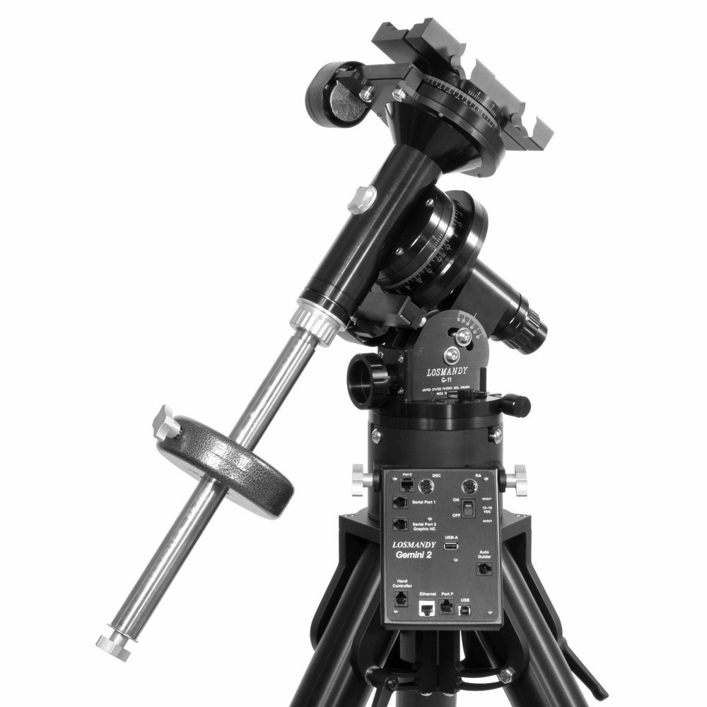 Losmandy montatura G11 con Gemini 2 e treppiede HD