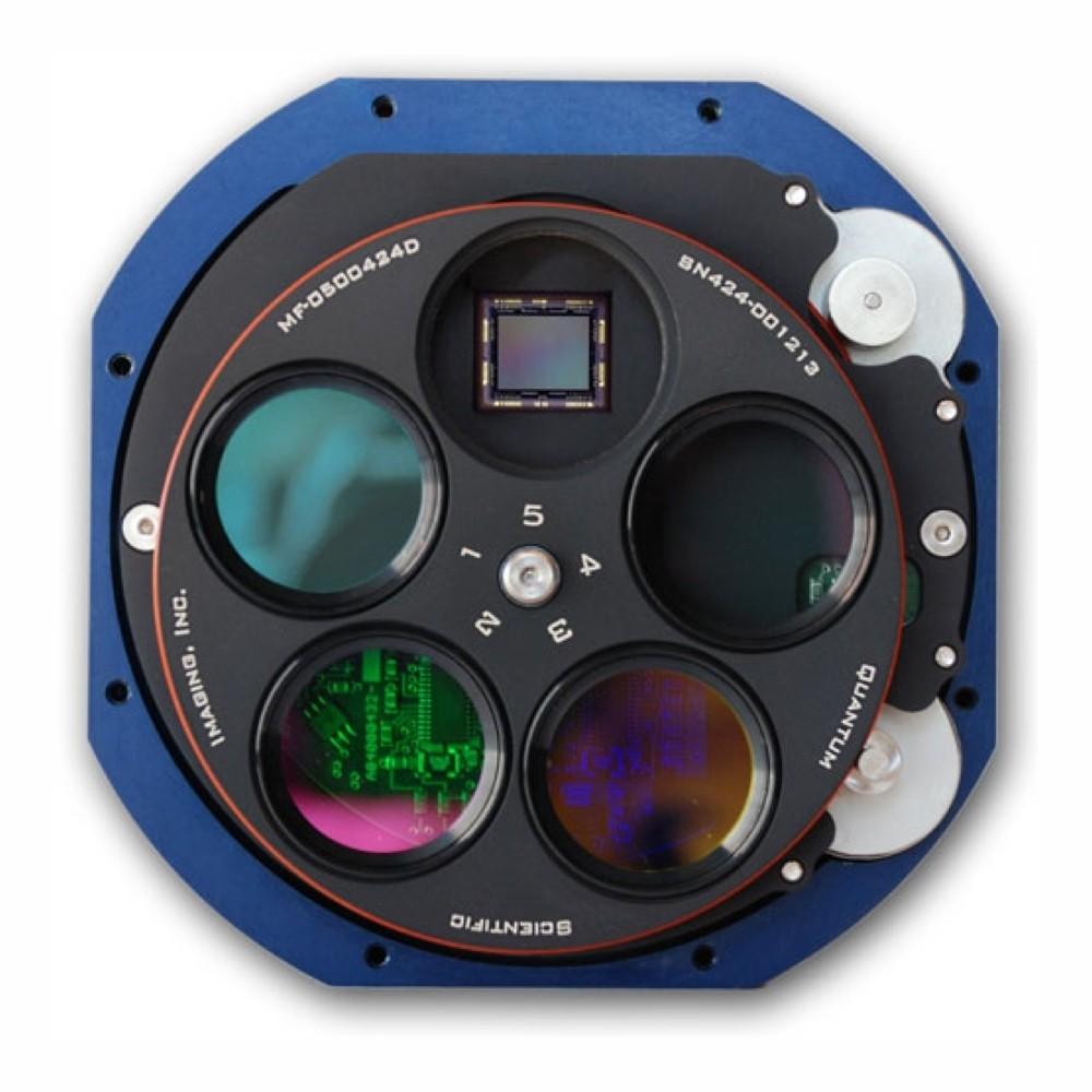 QSI camera 690ws monocromatica con ruota portafiltri 5 x 31,8mm
