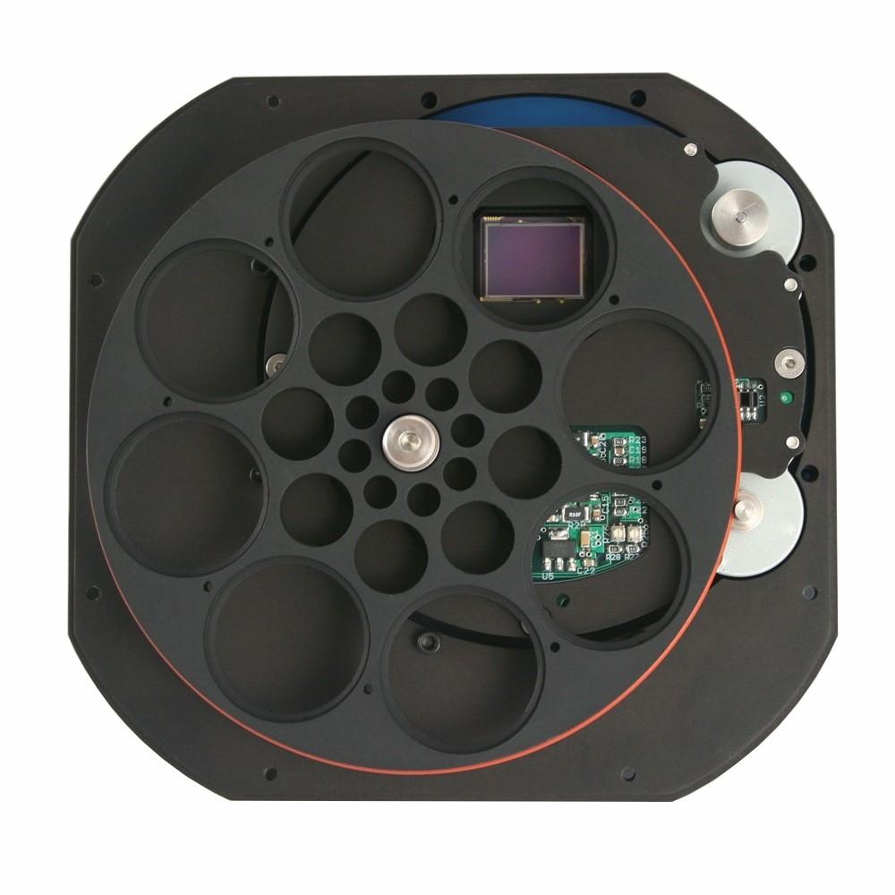 QSI camera 690ws8 monocromatica con ruota portafiltri 8 x 31,8mm