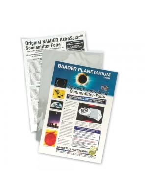 Baader filtro solare AstroSolar, formato A4 20x30cm, densità ND=5.0