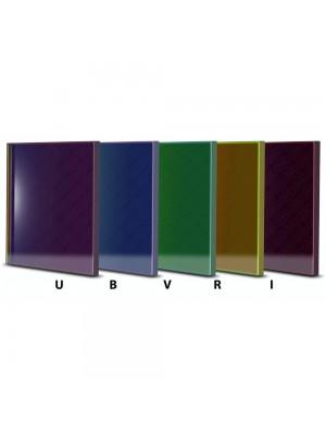 Baader set filtri fotometrici UBVRI 50x50mm