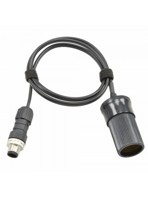 Eagle-compatible power cable for accessories with cigarette plug - 30cm
