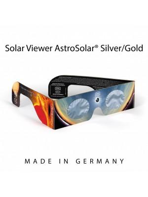 Occhialino Solar Viewer AstroSolar Silver/Gold