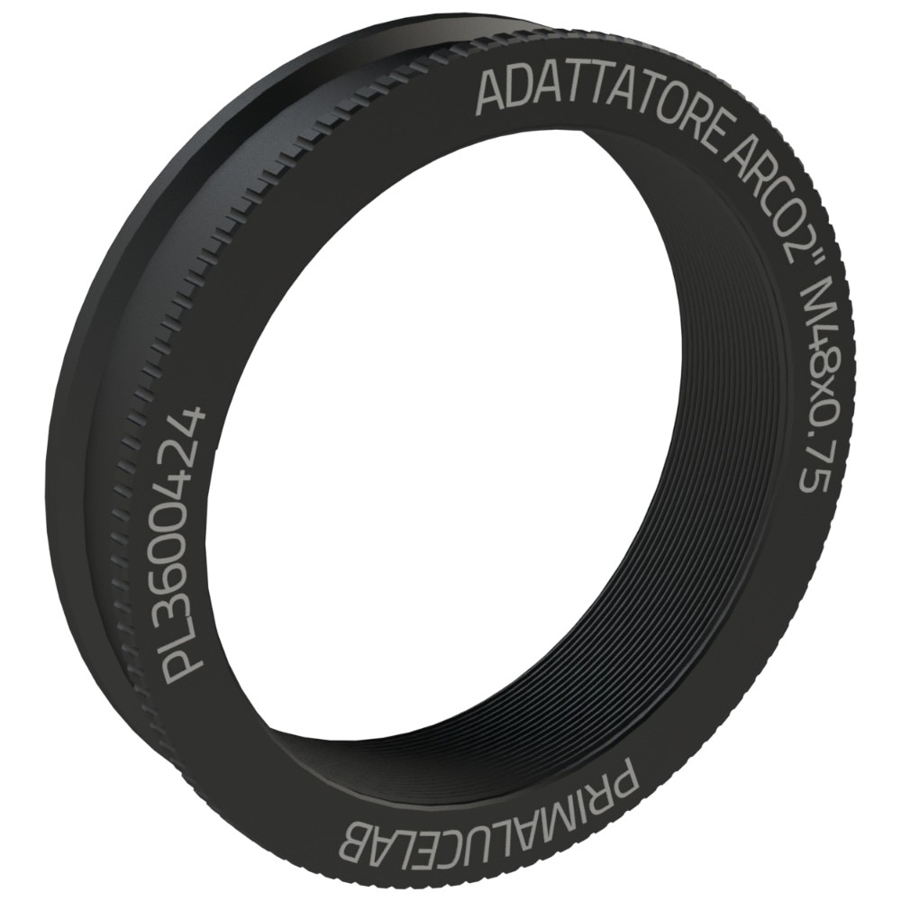"""M48x0.75 female adapter for ARCO 2"""""""