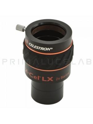 Celestron X-Cel 2x Barlow lens 31,8mm