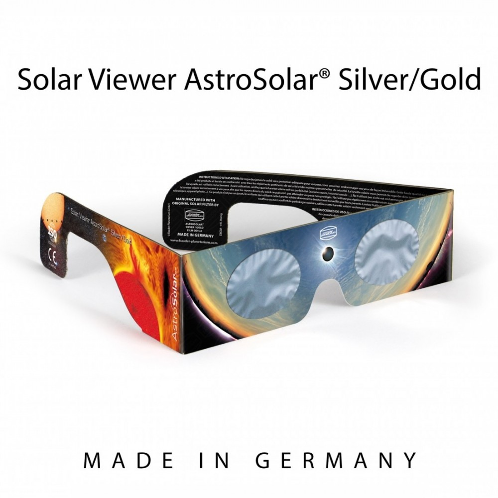 Occhialino Solar Viewer AstroSolar Silver/Gold