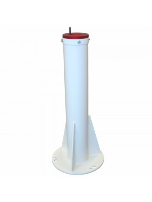 C82 pier for concrete base with adapter for EQ6 / EQ6-R / AZ-EQ6 / CGEM