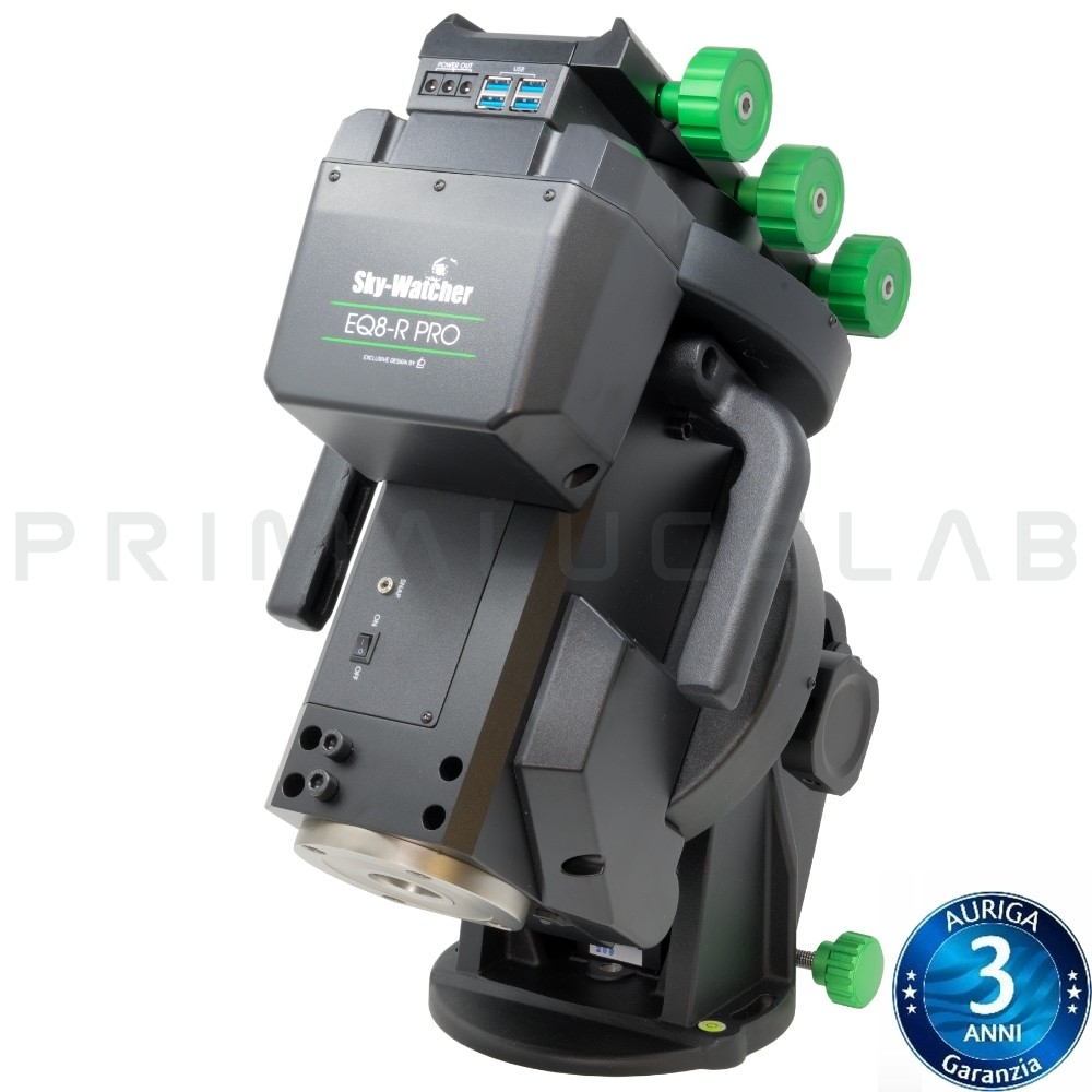 SkyWatcher montatura EQ8-R PRO SynScan solo testa + alimentatore 12V