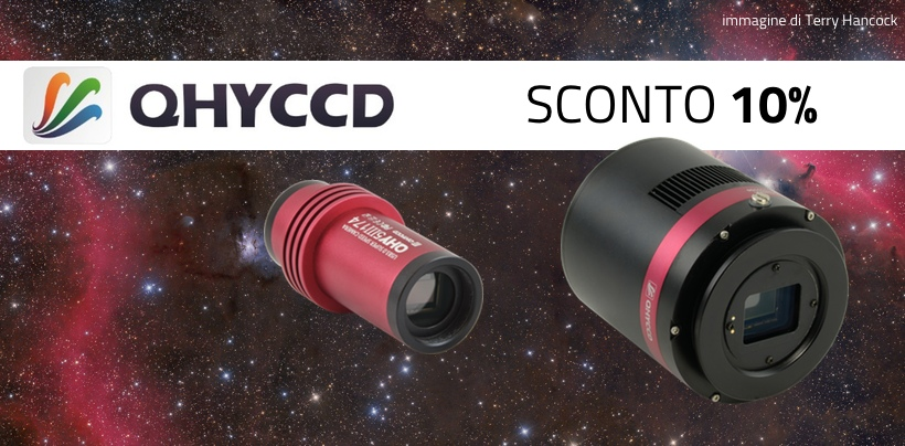 Astronomia - QHYCCD 10% - ITA