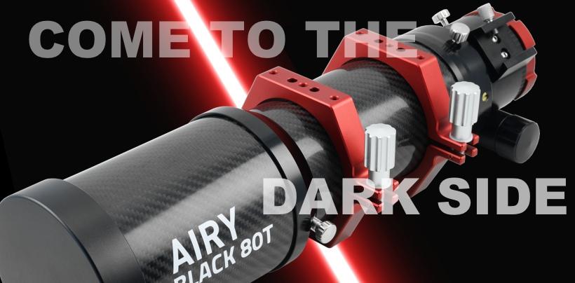 Astronomia - banner BLACK 80T - ITA