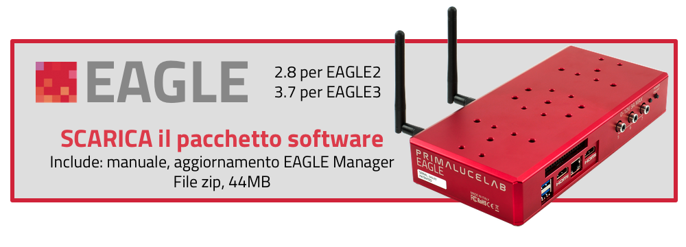 Scarica il pacchetto software per EAGLE 3