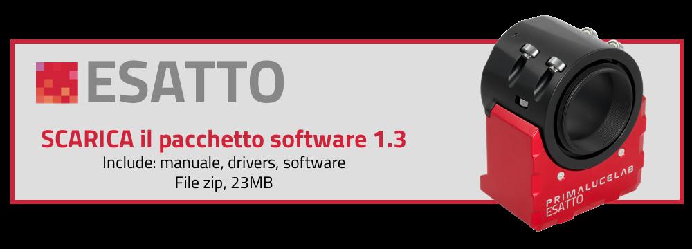 Scarica il pacchetto software per ESATTO