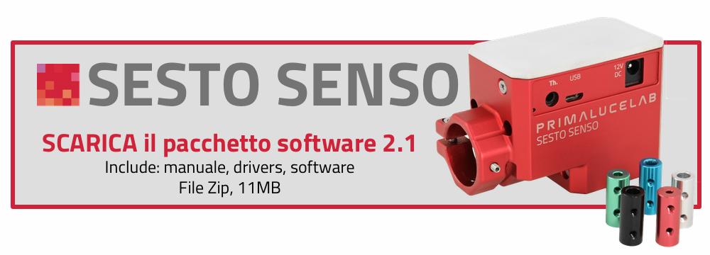 Scarica il pacchetto software per SESTO SENSO