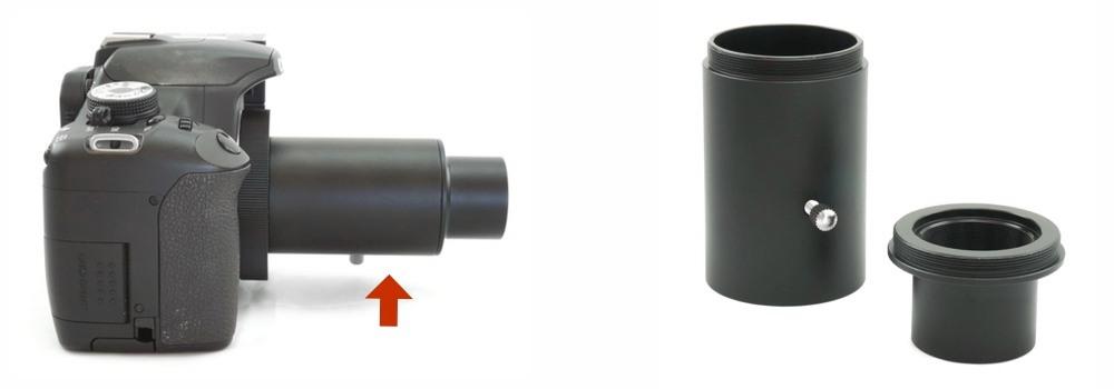 Adattatore da 31.8mm per fotografia in proiezione