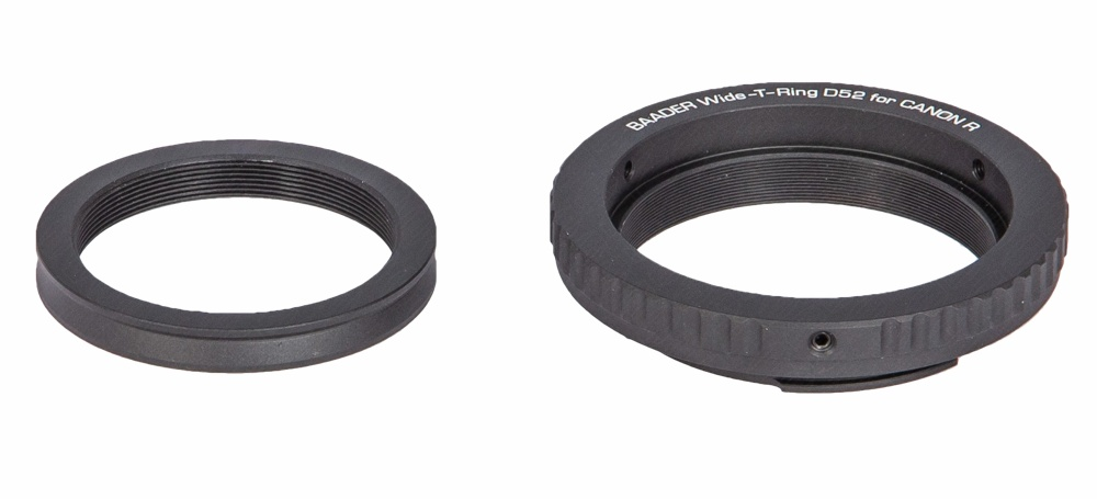 Baader Wide-T ring for Canon R with S52/T2