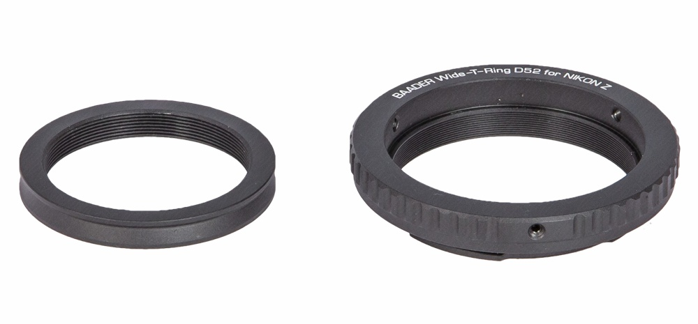 Baader Wide-T ring for Nikon Z with S52/T2