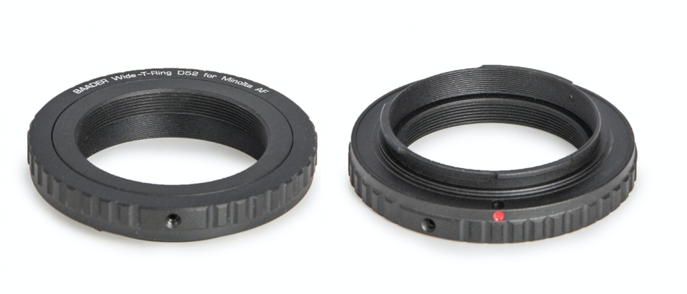 Baader Wide-T ring for Sony Alpha and Minolta Maxxum with S52/T2