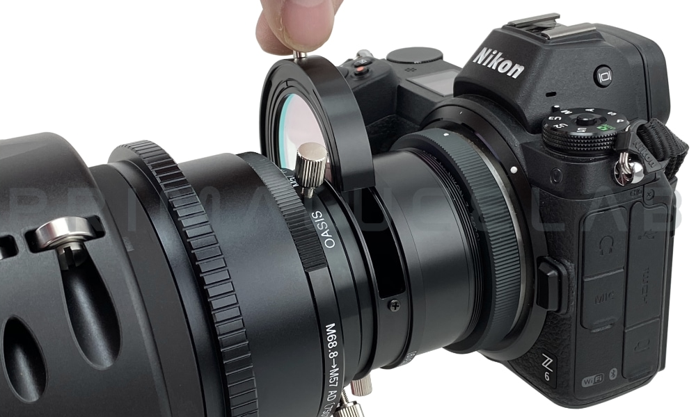 Borg M49.8 adapter for Nikon Z 5032