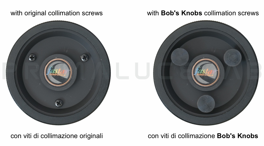 Bob's Knobs viti di collimazione per C8 metrico