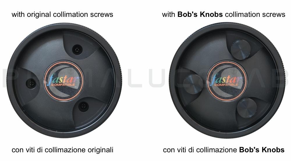 Bob's Knobs viti di collimazione per EdgeHD 925 o C9.25 Fastar