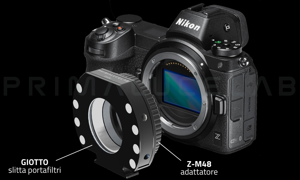 Nikon Z6 AstroKit, camera mirrorless con adattatore per astrofotografia
