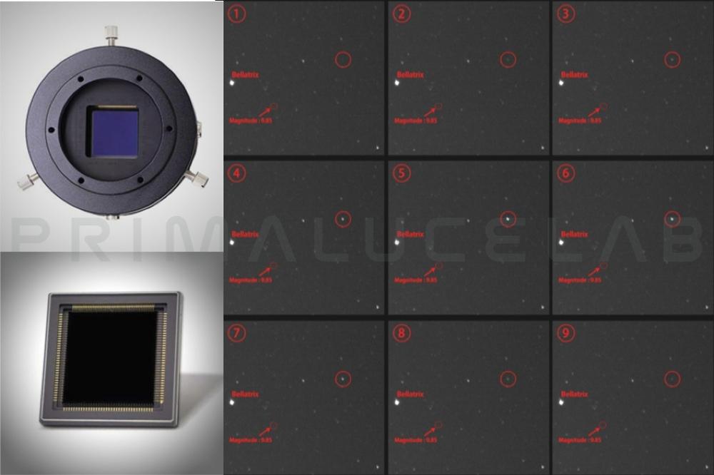 QHYCCD camera QHY42-BSI monocromatica