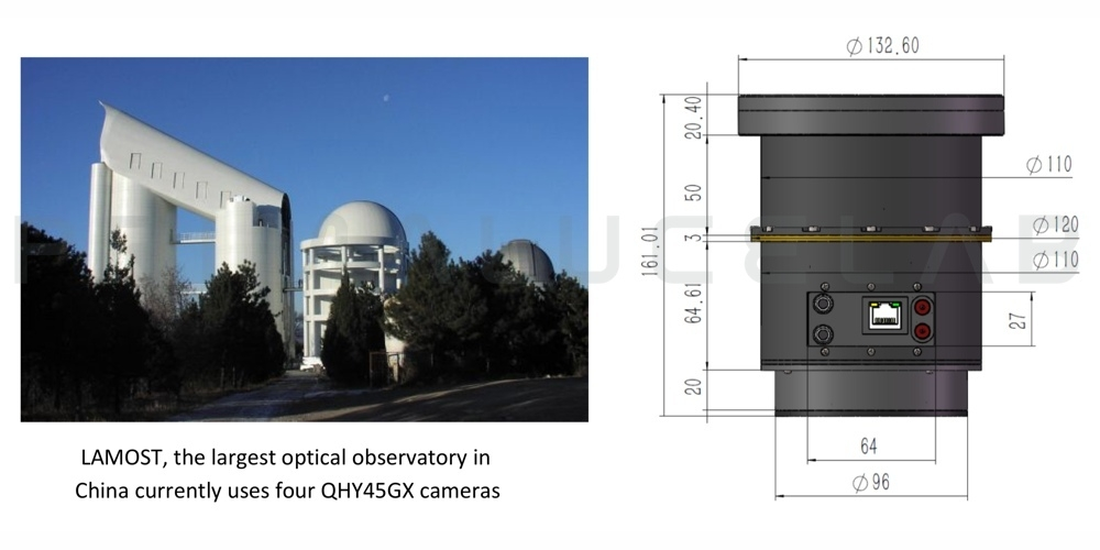 QHYCCD QHY45GX monochrome camera
