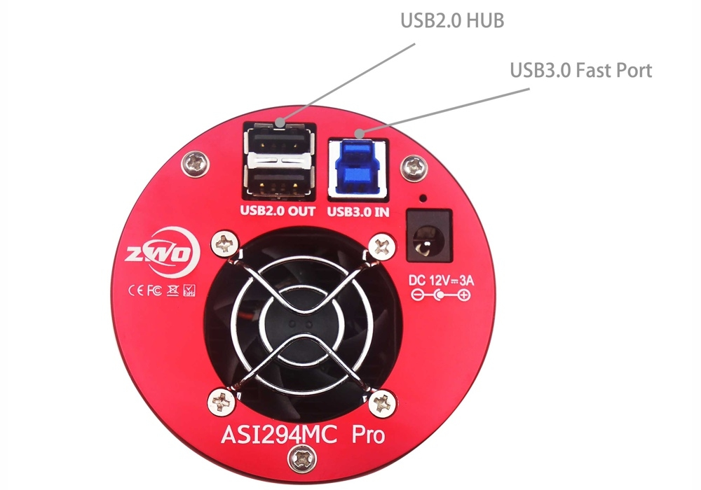 ZWO ASI294MC-PRO CMOS color camera