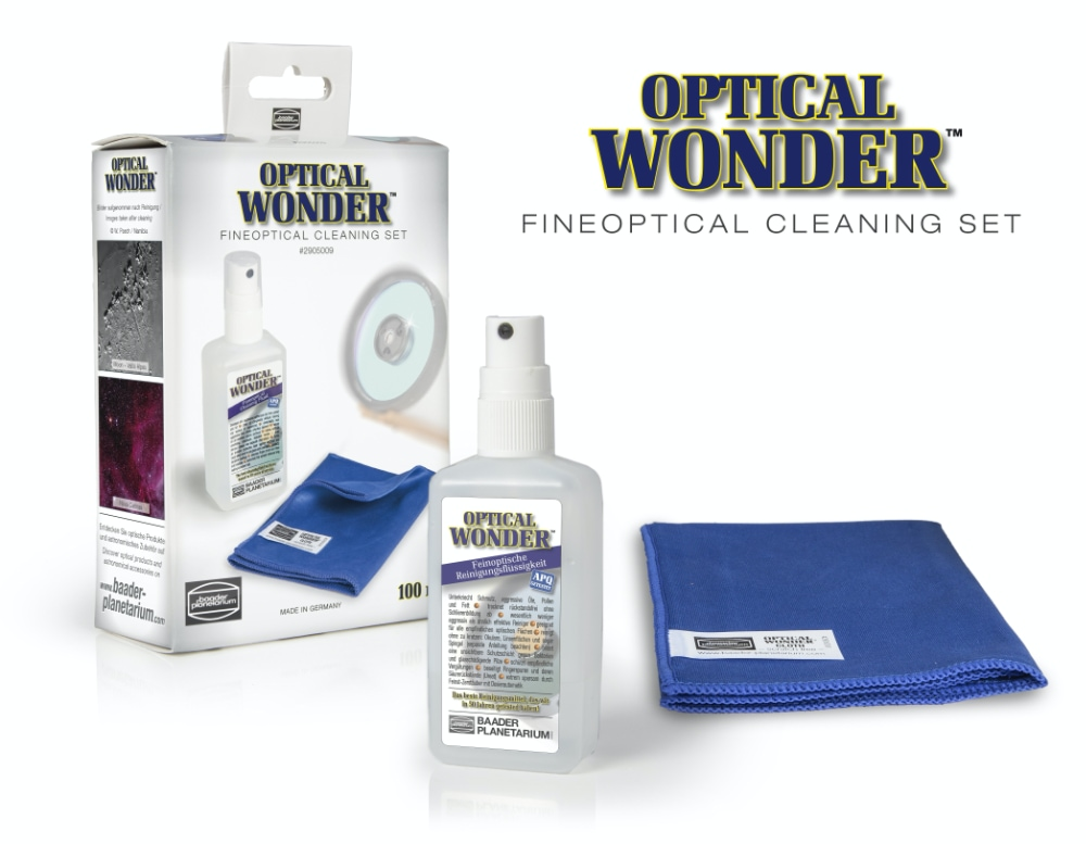 Baader Planetarium Optical Wonder set (Cleaning Fluid and Cloth)