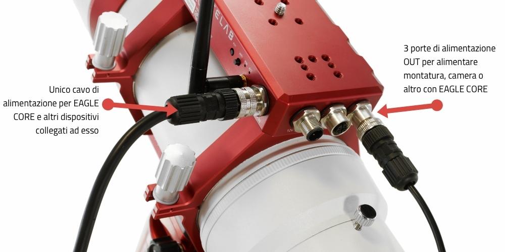 EAGLE CORE unità di controllo per astrofotografia con reflex e mirrorless