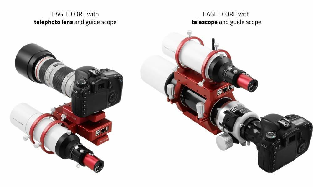 EAGLE CORE - control unit for astrophotography with DSLR camera
