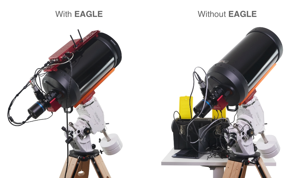 EAGLE LE, control unit for telescopes and astrophotography