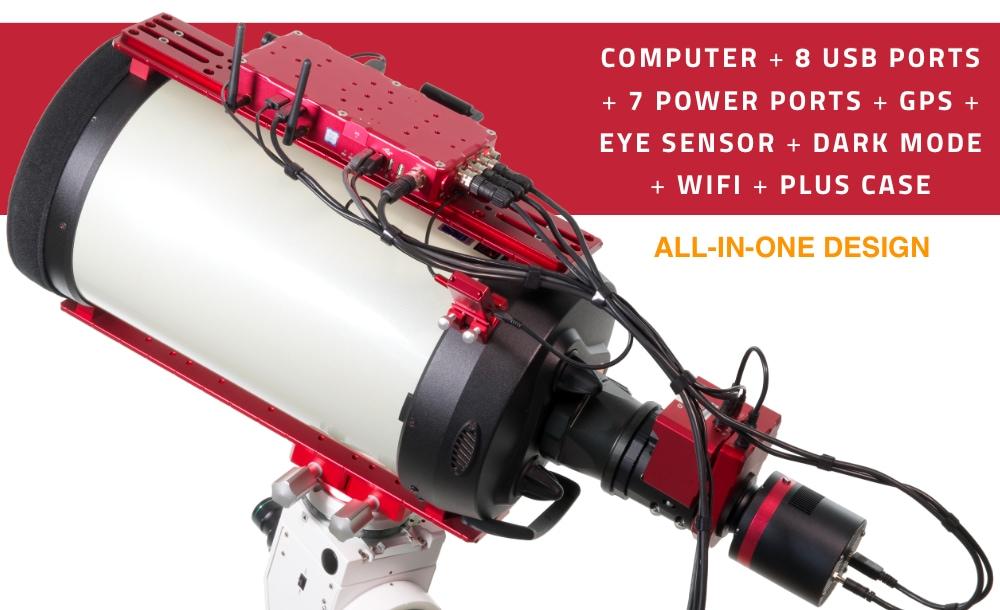EAGLE4, unità di controllo avanzata per telescopi e astrofotografia
