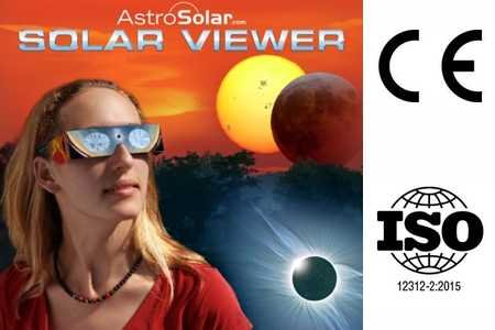 Baader Planetarium Solar Viewer AstroSolar Silver/Gold