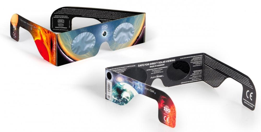 Baader Planetarium occhialino Solar Viewer AstroSolar Silver/Gold