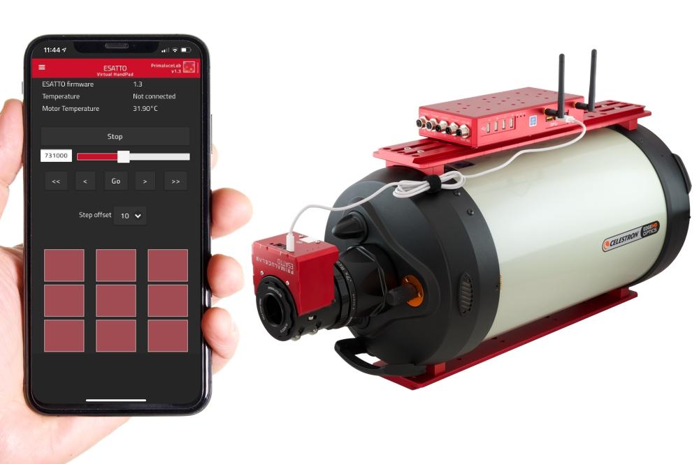 ESATTO 2 focheggiatore robotico micrometrico