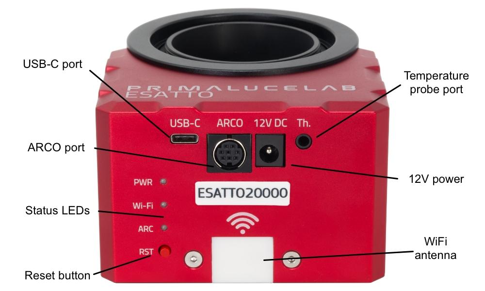 ESATTO 2 robotic focuser