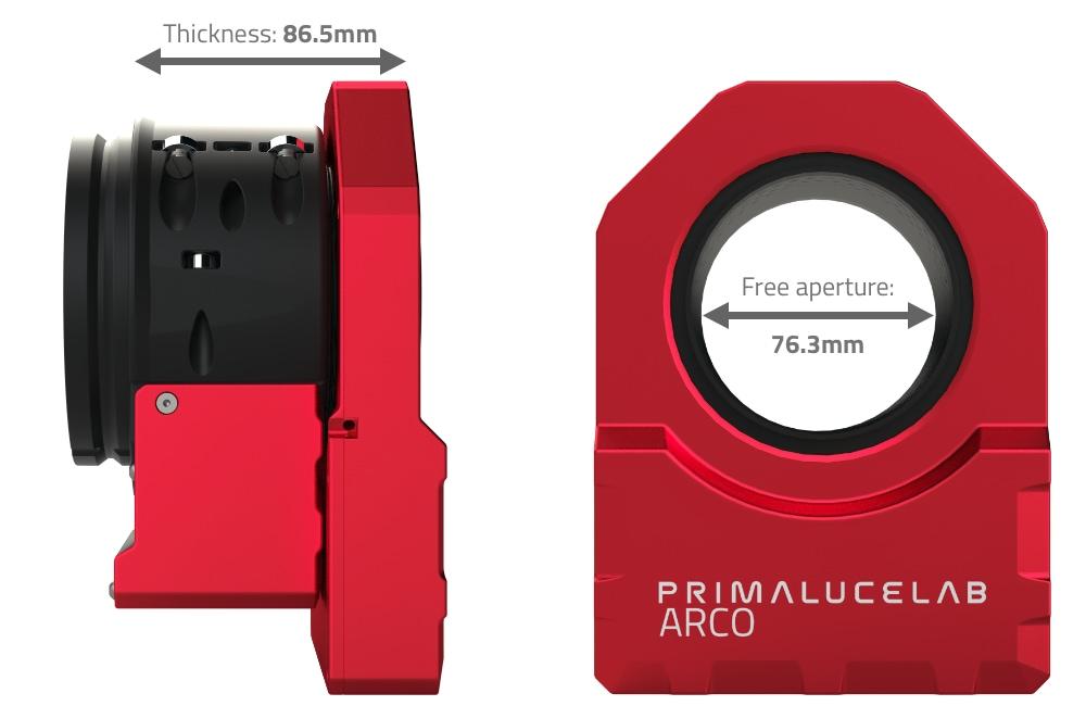 ESATTO 3 focuser with ARCO 3 rotator