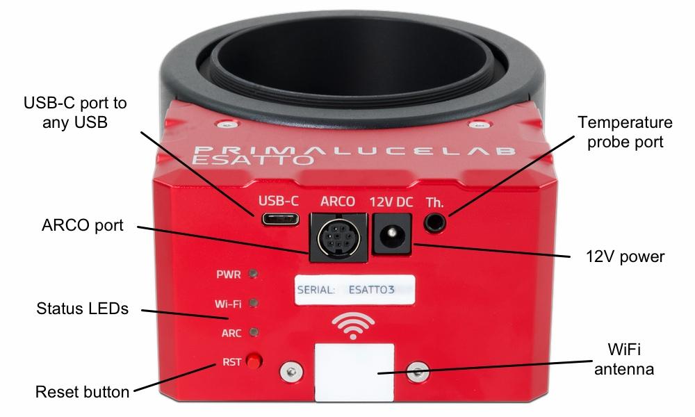 ESATTO 3 robotic focuser