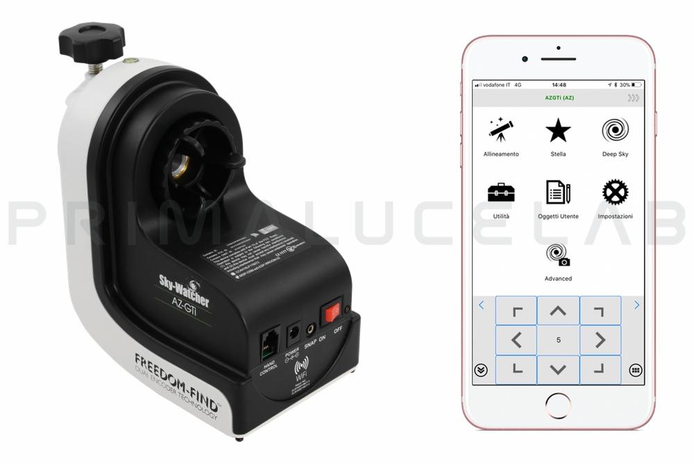 SkyWatcher AZ GTi altazimuth mount with WiFi control