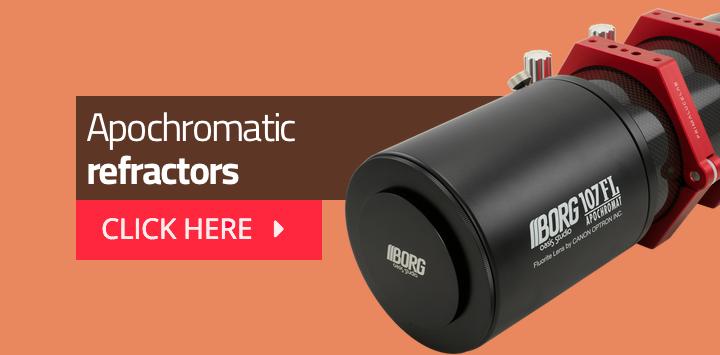 Apochromatic refractors