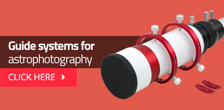 Guide systems for astrophotography