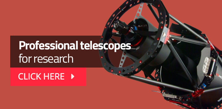 Professional telescopes for research